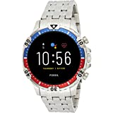 Fossil Hommes GEN 5 Smartwatch connectée avec écran tactile, Haut parleur, Rythme cardiaque, GPS, NFC et notifications Smartp