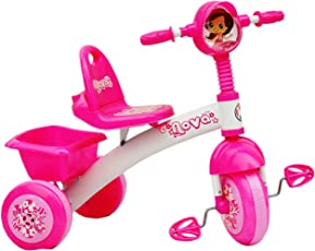 Nagar International Baby Tricycle Pink 1523Nz With Attractive Face Design For 1-3Yrs