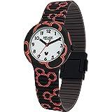 Hip Hop Watches - Orologio Mickey Mouse Unisex Edizione Speciale Anniversario Topolino - Collezione Mickey Retro - Cinturino