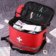 VEVICE Sport Camping Home Medical Notfall-Überlebensset Erste Hilfe Kit Tasche Outdoor