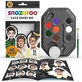 Snazaroo Make-upset Halloween, make-uppalet met kwast, sponsje en handleiding (mogelijk niet beschikbaar in het Nederlands),