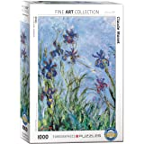 Eurographics EG60002034 Irises av Claude Monet pussel (1 000 stycken)