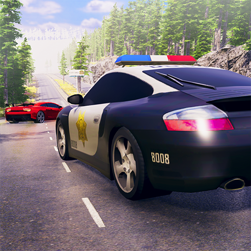Cops Vs Robbers Crime Scene Call Duty Criminal Escape Mission 3D: Police Car Chase Driving Simulator Drifting Games Free For Kids