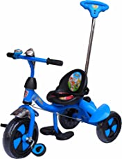 Ehomekart Funride UNIK Deluxe Tricycle with Sipper, Bell and Parental Handle (UNIK_PLN)