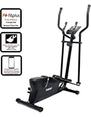 Fitkit FK400 Magnetic Elliptical Trainer (4 kg) with Free Installation