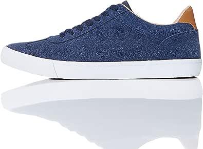 Marchio Amazon - find. Sneaker Basse in Pelle Scamosciata Uomo