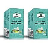 Apsara Tea Detox Kahwa Green Tea | Immunity Boosting Properties | Antioxidants Properties | 72 Tea Bags