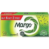 Margo Original Neem Soap - 125gm Pack of 8 (Buy 6 Get 2 Free)