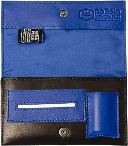 Pellein - Portatabacco in vera pelle Touch - Astuccio porta tabacco, porta filtri, porta cartine e porta accendino. Handmade in Italy