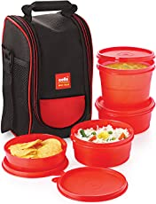 Cello Max Fresh Super Polypropylene Lunch Box Set, 300ml/24cm