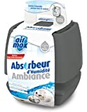 UHU 48160 Air Max Ambiance Absorbeur d'humidité Gris