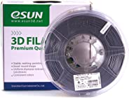 eSUN 1.75mm GREY PLA+ 3D Printer Filament 1KG Spool (2.2lbs), GREY