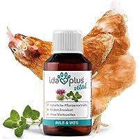 Ida Plus - MiLB & WEG - Aliment complémentaire aux extraits naturels de Plantes - Particulièrement Bon pour Les Poulets…