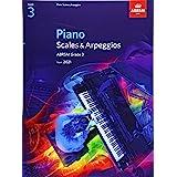 Piano Scales & Arpeggios, ABRSM Grade 3: from 2021