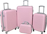 New Travel 1608/4P Luggage, 124 liters