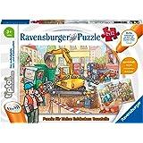 Ravensburger tiptoi Puzzle für kleine Entdecker: Baustelle 2x12 Bitar
