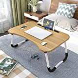 Generic LTT-0013 Multipurpose Laptop Table with Dock Stand & Non-Slip Legs Foldable and Portable Lapdesk for Study & Bed (Ran