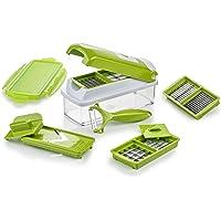 Genius Nicer Dicer Smart   10 Parti   Tagliaverdure   Affettaverdure   Mandoline   800 ml   Slicer   Dicer   Food Chopper   Nuovo