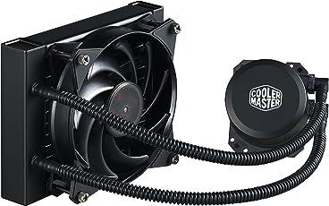 Cooler Master MasterLiquid Lite 120 Sistema di Raffreddamento a Liquido 'Radiatore da 120mm, Radiatore da 120mm, LED Bianco' MLW-D12M-A20PW-R1