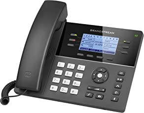 Grandstream GS-GXP1760 Mid-Range IP Phone with 6 Lines VoIP Phone and Device, 3