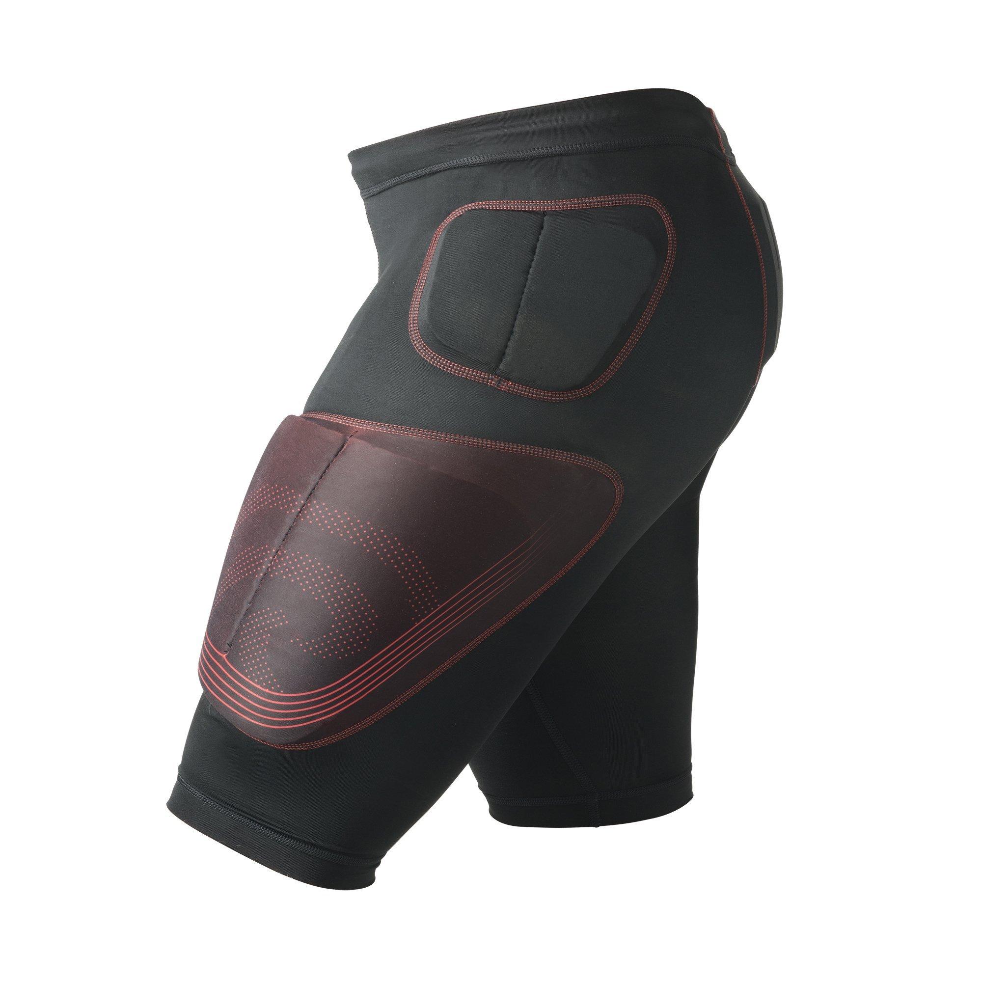 Rehband Kompression RX S Gepolstert an Hüfte Oberschenkel und Steißbein Shorts