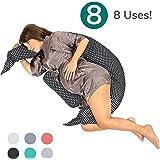 Moon 2er Pack Seitenschl/äferkissen Bezug Jersey Kissenbezug Kiwi 40x145