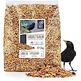 Rêve d'Oiseau - Nourriture pour Merle - Special avec Baies et Fruits [5kg] I Graines pour Oiseaux Sauvages Exterieur de Premi
