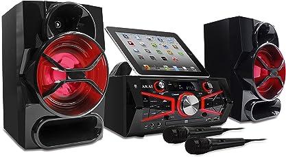 Akai KS5500-BT Ultimate CD&G Karaoke Machine with 150W and Lighting Effect