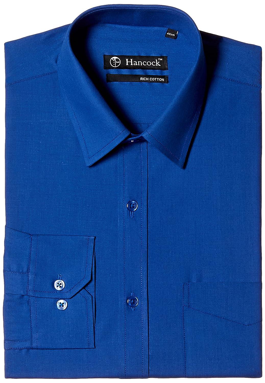 Hancock mens formal shirt amazon clothing accessories biocorpaavc