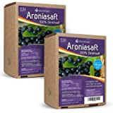 2 x 5L Obsthof Stockinger Aronia Muttersaft Bag in Box Aroniasaft, Sparpaket
