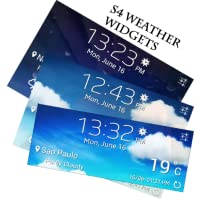 (Free) Beautiful S4 Weather Widgets