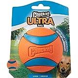 Chuckit Ultra Ball, gomma rimbalzo durevole, compatibile con Launcher, 1 confezione, L