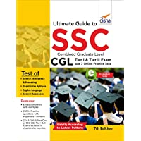 Ultimate Guide to SSC Combined Graduate Level - CGL Tier I & Tier II Exam with 3 Online Practice Sets 7th Edition