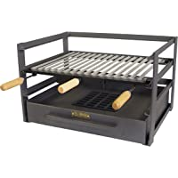 Grill Chef 31061 Barbecue Charbon Suspendu Inox 50 Cm