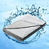 Marchpower Cooling Blanket, Japanese Arc-chill Q-MAX>0.4 Cooling Fiber Summer Blankets, Double-sided Lightweight Cool…