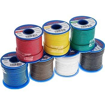 Sortiment Messleitungen LifYY Litzen höchstflexibel 5 Farben je 5m 1,00mm²