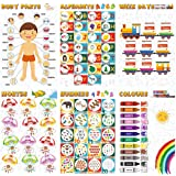Vantagekart Alphabets, Numbers, Weekdays, Colours, Months, Body Parts Educational Posters/Charts for Preschool Kids…