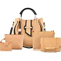 Care4u Handbag For Women And Girls COMBO SET OF 5 (BG-BKL-S05)