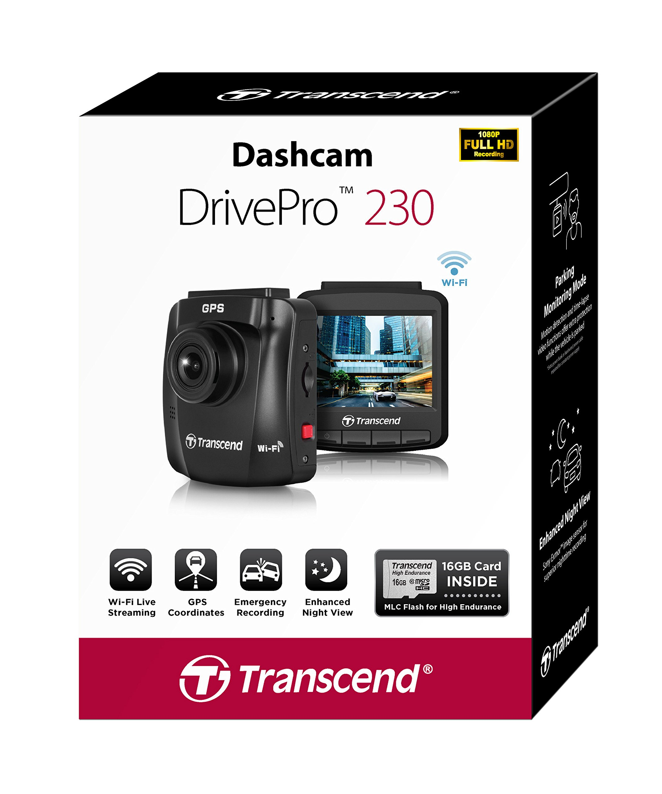 Transcend-TS16GDP230M-DrivePro-230-Full-HD-Autokamera