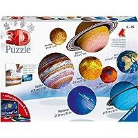 Ravensburger- Puzzle 3D Système Solaire Enfant, 4005556116683, Autre