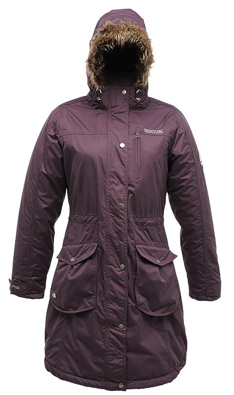 Regatta Women's Land Break Waterproof Jacket - Plum Wine, Size 10 ...
