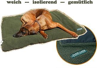 Farm-Land Hundedecke Hundebett ProThermo grün 70x100cm