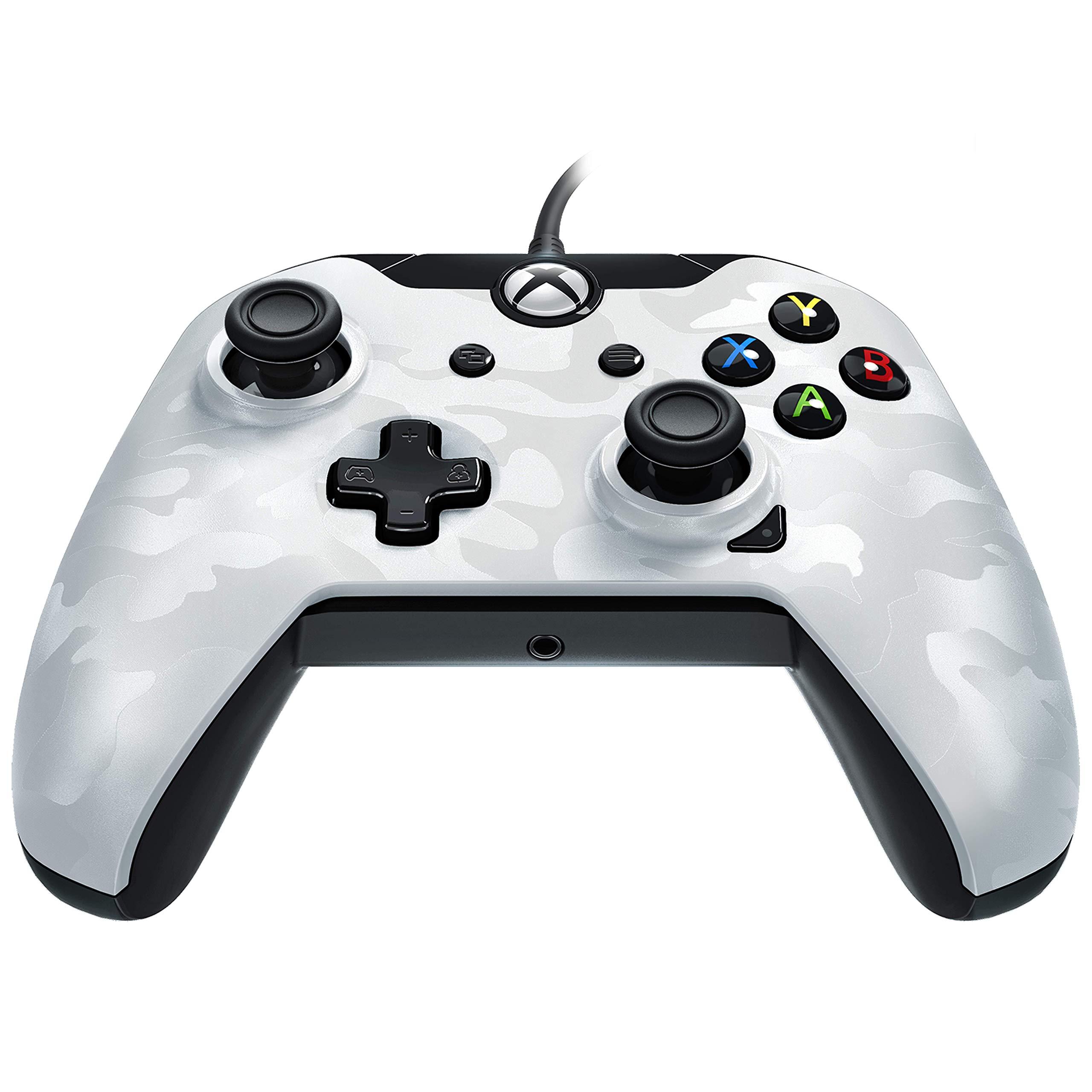 PDP – Mando Licenciado Nueva, Color Camuflaje Blanco (Xbox One)