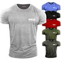 GYM CLOTHES FOR MEN Gym T Shirt Bodybuilding T Shirts Gym Clothes – BEBAK Workout Top Training Tops Arnold…