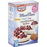 Dr.Oetker MonChou taart met kandijkoekjes bodem - taartmix voor 12 taartpunten (370 g)