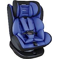 XOMAX 916 Seggiolino Auto con ISOFIX Girevole 360 Gradi e reclinabile I Evolutivo 0-36 kg, 0-12 Anni I Gruppo 0+/1/2/3 I…
