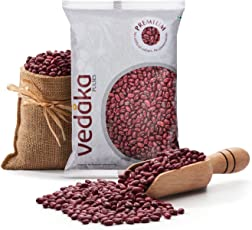 Amazon Brand - Vedaka Premium Red Rajma, 500g