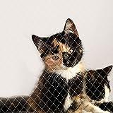 dibea Katt nät balkong skyddsnät kattskyddsnät storlek 3 x 4 m (S)