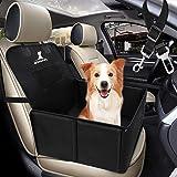 Wimypet Seggiolino Auto per Cani con Cintura di Sicurezza, Impermeabile Seggiolino Auto Cane con Lati Robusti di Piccola Medi