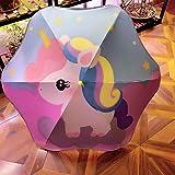 Nuevo paraguas para niños, paraguas para niños, paraguas protector, paraguas para jardín de infantes, paraguas para bebé, par